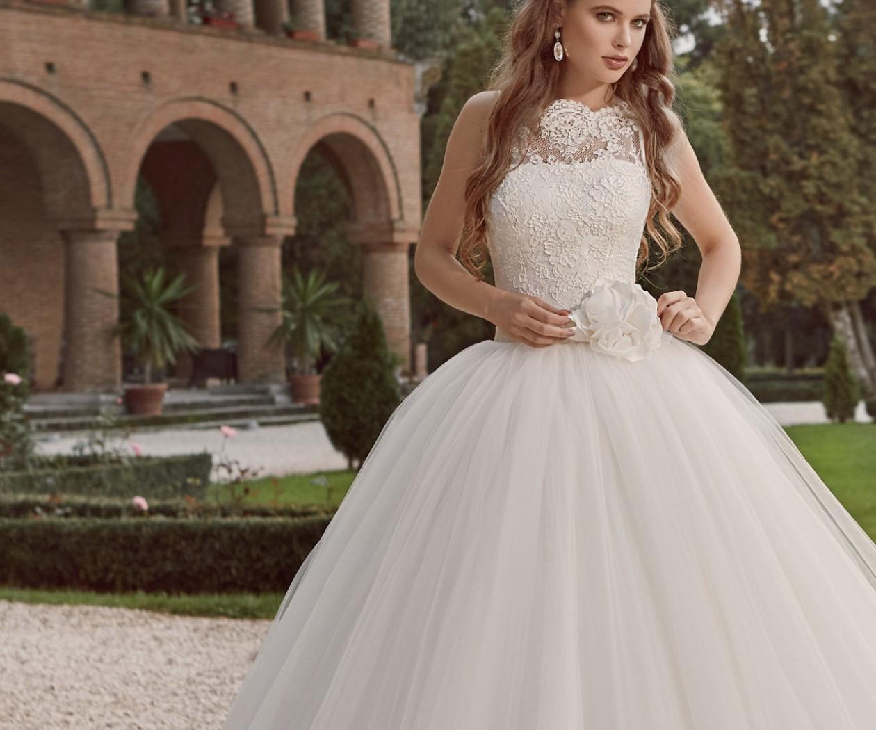 Потрясающе пышное свадебное платье ЛИЯ