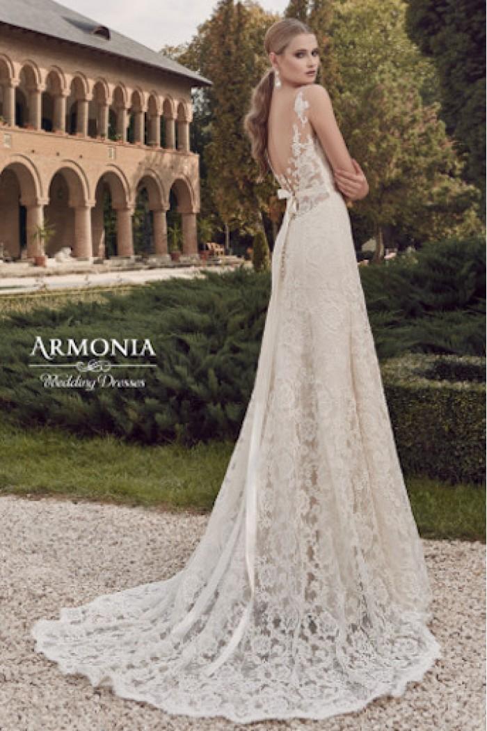 Модное свадебное платье силуэта годе МЕРИ