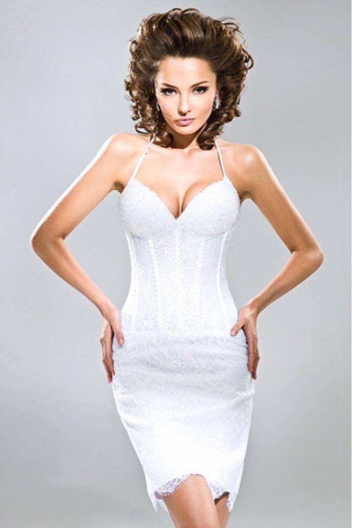 Свадебное платье силуэта «Рыбка» НЬЮ ЙОРК