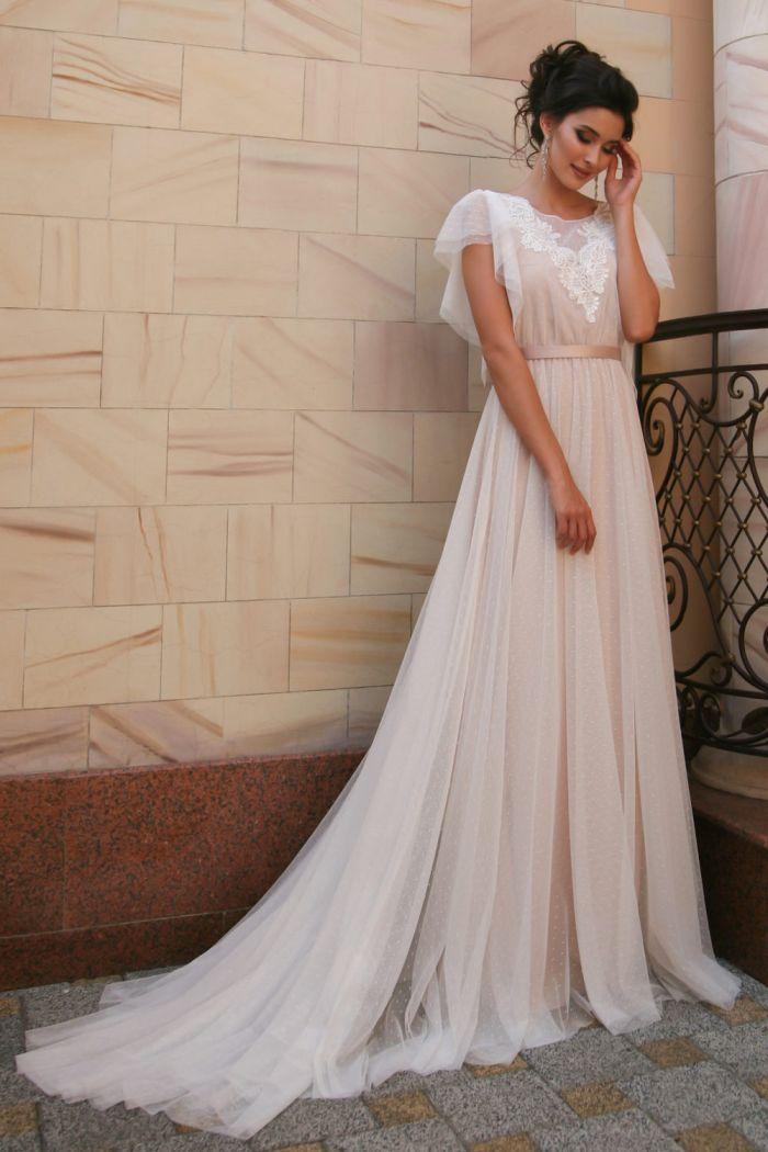 Женственное свадебное платье трансформер ДЖИА