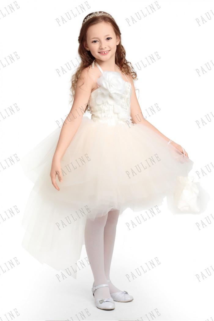 Детское платье с пышной юбкой из фатина ФЛОРАНС