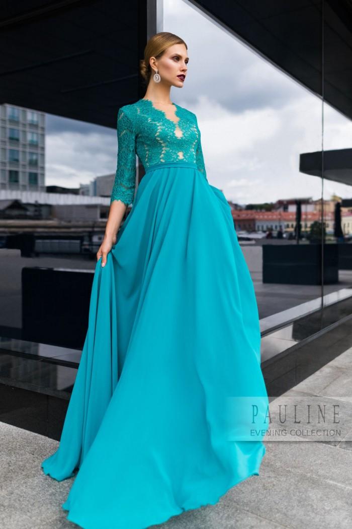 Лёгкое, почти невесомое, и очень изысканное вечернее платье ПАУЛА