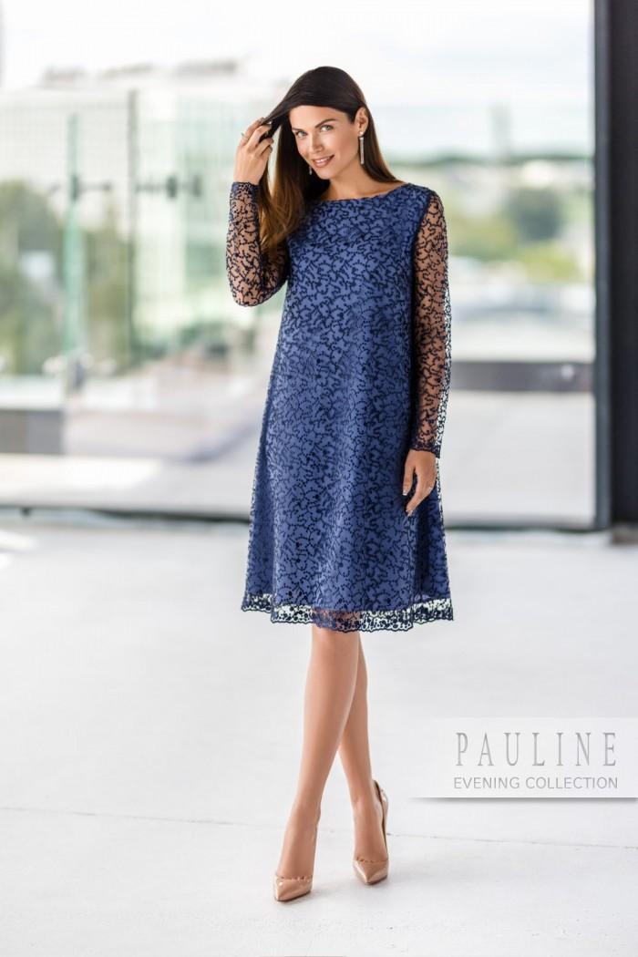 Маленькое вечернее платье, решённое в изящной французской стилистике ТРИШ