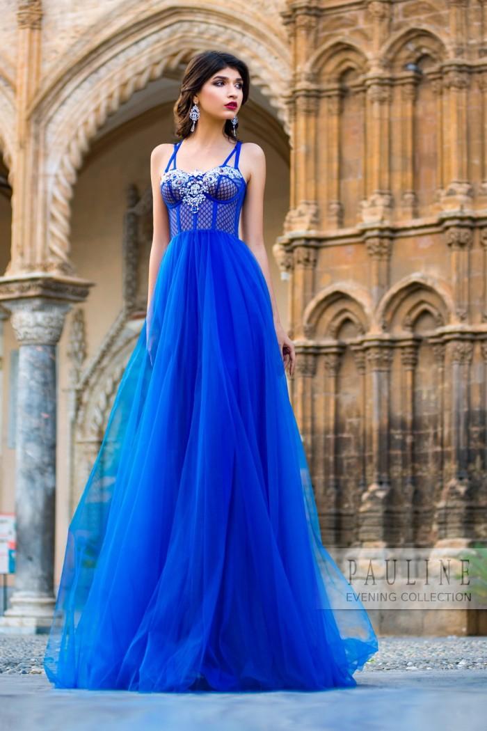 Вечернее платье в экзотическом стиле МАРОККО