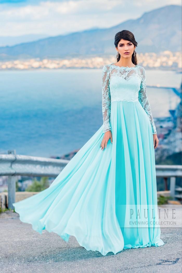 Очень девичье платье с нежным кружевом и свободной юбкой НИЦЦА