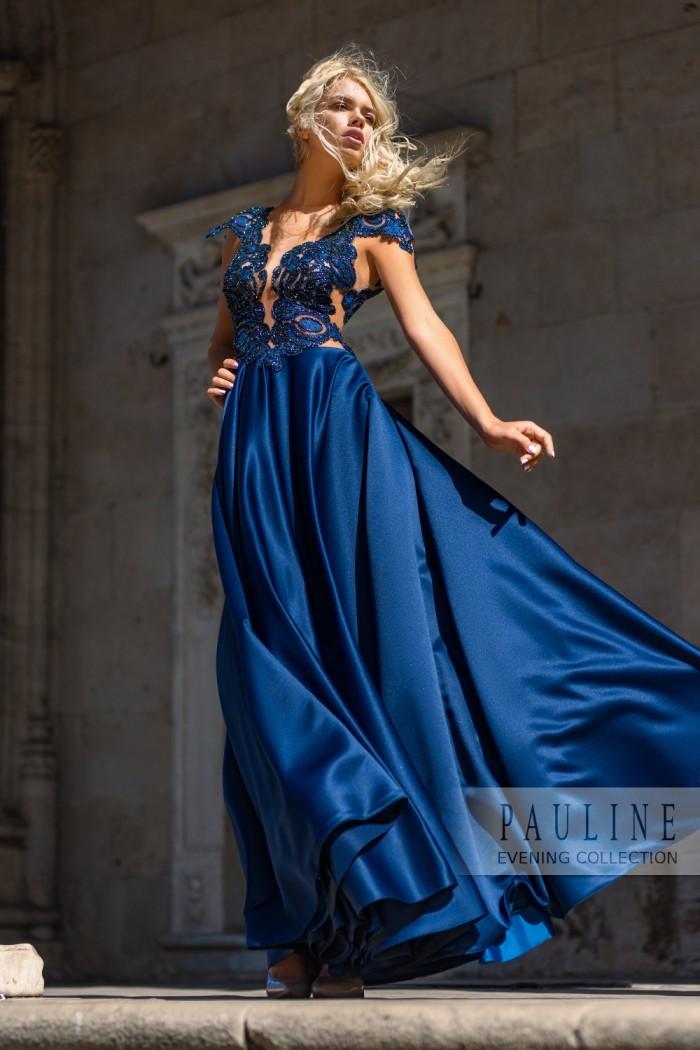 Длинное вечернее платье с завораживающими узорами ПАЛЕРМО