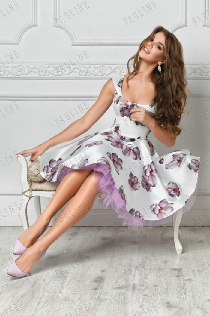 Вечернее платье трансформер с пышной юбкой ИНСАРА