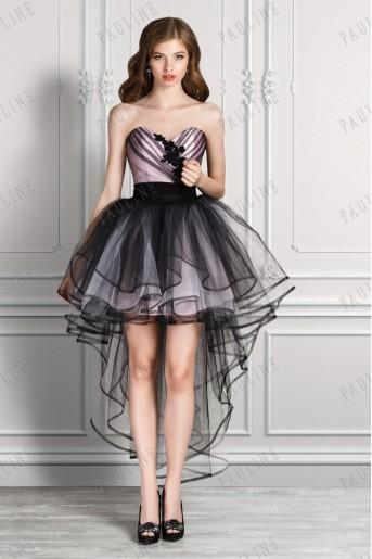 Платье коротко длинно