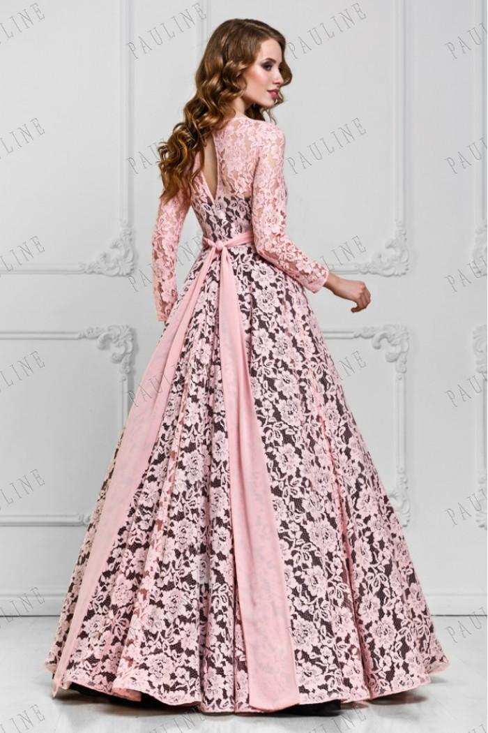 2b03b9cedd800f3 Шикарное длинное вечернее платье из кружева в Хабаровске