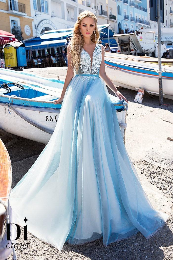 Изысканное и впечатляющее свадебное платье СЕЛЕНА