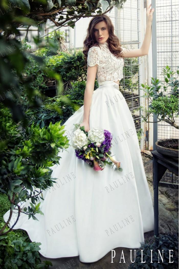 Свадебный комплект - кружевной топ с пышной юбкой ПИЛАР