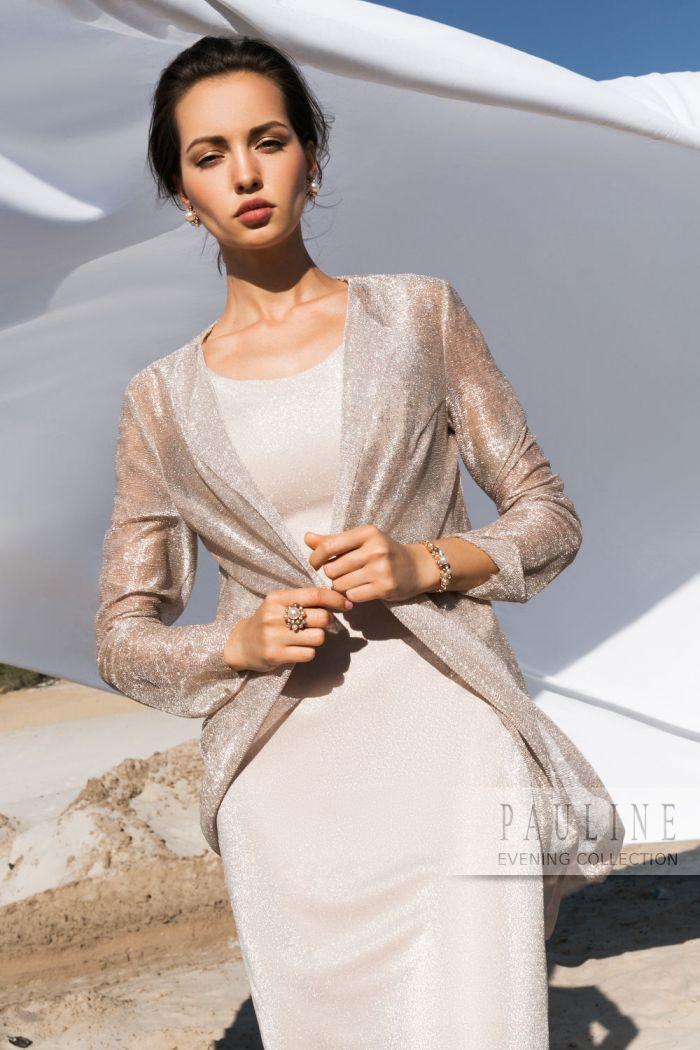 Нежное и чувственное вечернее платье из пластичной и мерцающей ткани СПЕНСЕР
