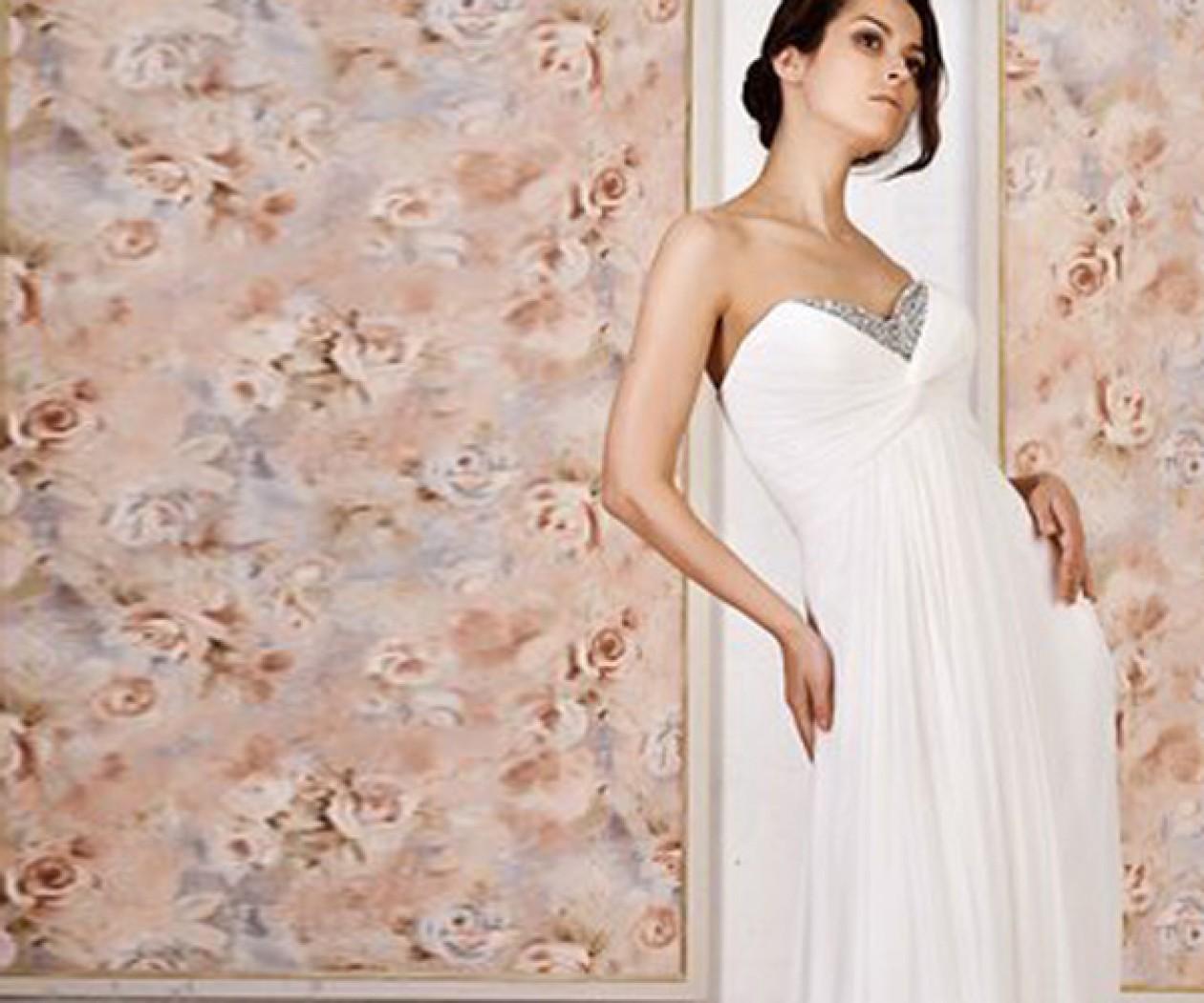 Свадебное платье Ампир АМПИР