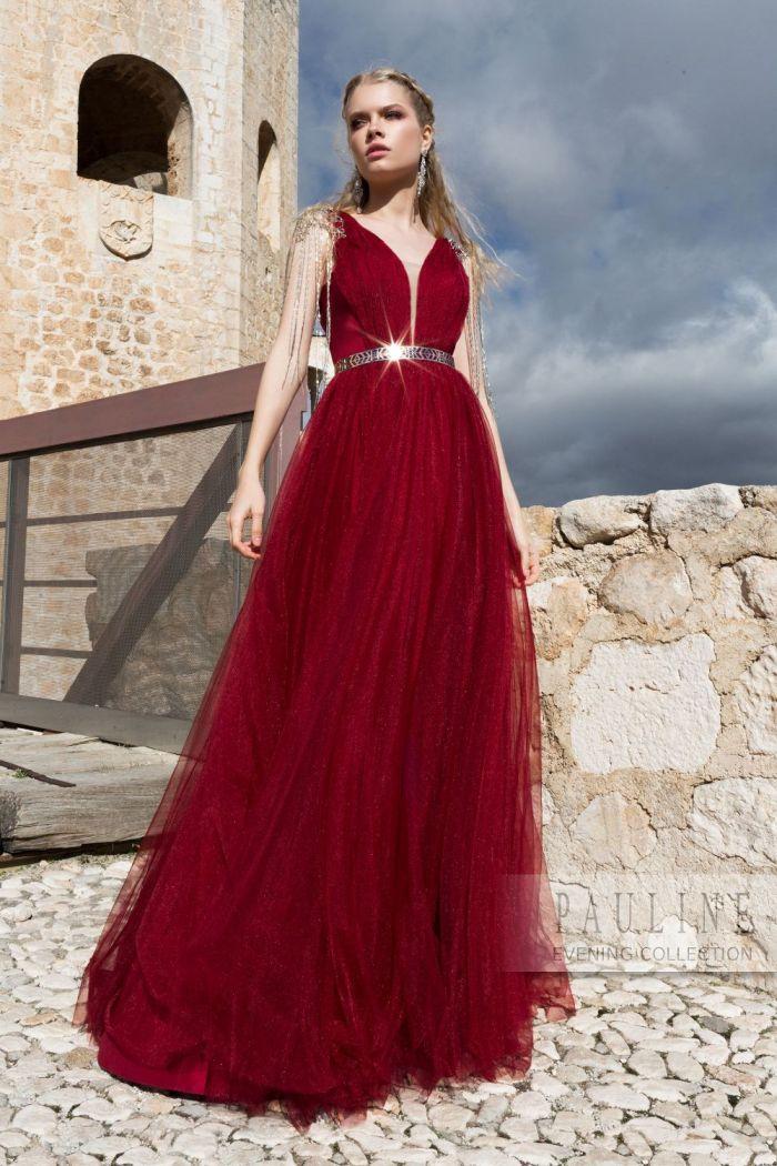 Торжественное вечернее платье с открытой спиной ПОЦЕЛУЙ ЭДВАРДА