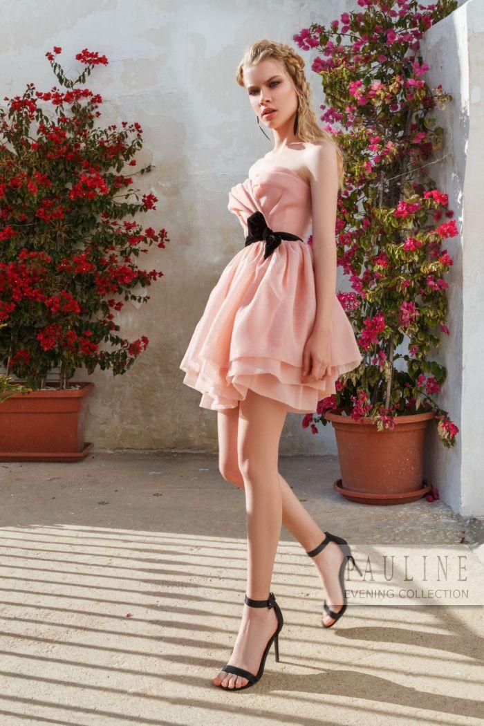 Романтичное вечернее платье с высокой линией талии ПЕРВОЕ СВИДАНИЕ