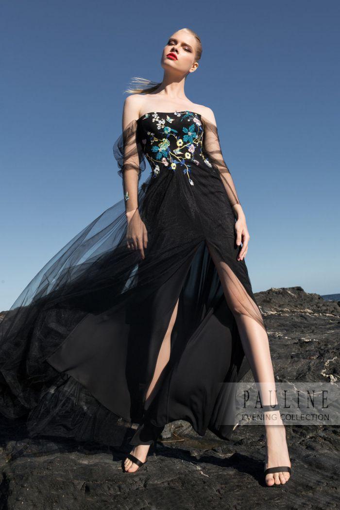 Полное таинственности волшебное вечернее платье САДЫ МАЛЕФИСЕНТЫ