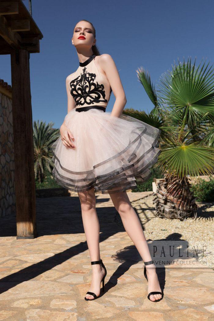 Незабываемый клубное платье с воздушной многослойной юбкой ЗАКРЫТАЯ ВЕЧЕРИНКА