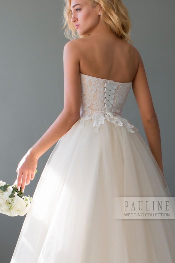 Женственное свадебное платье пышного силуэта РИФАИНТ