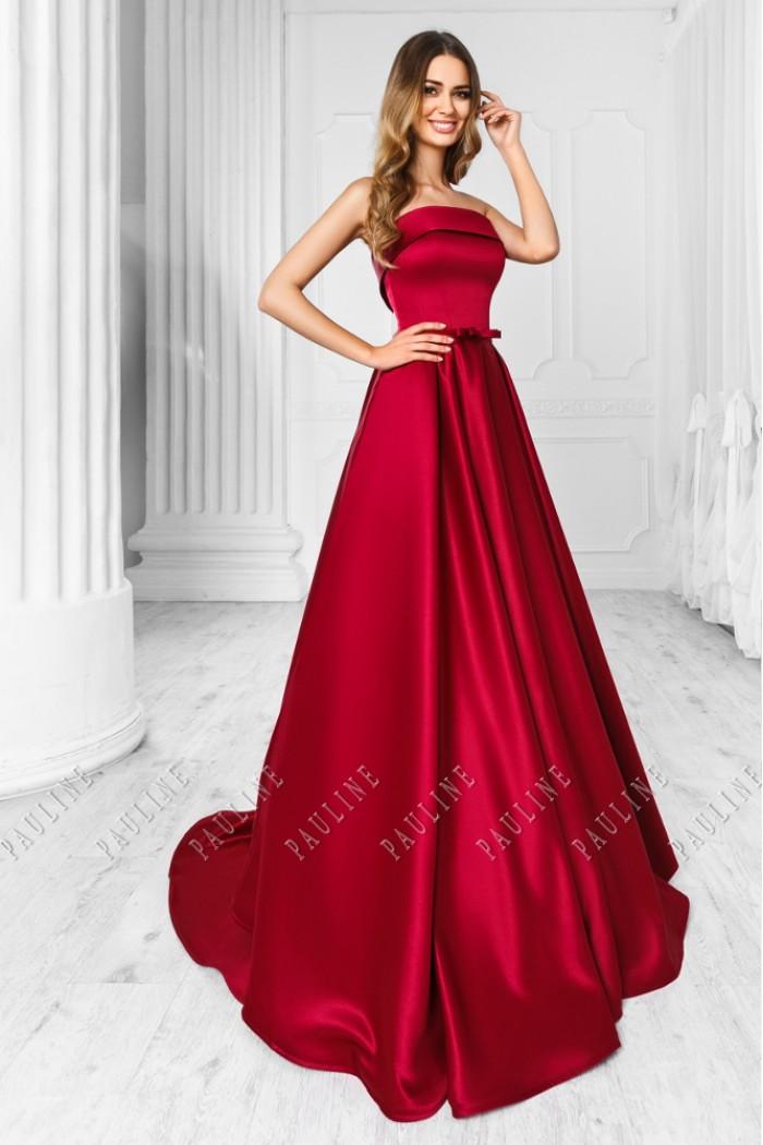 Впечатляющее вечернее платье королевского силуэта ФАРИТЕЙЛ