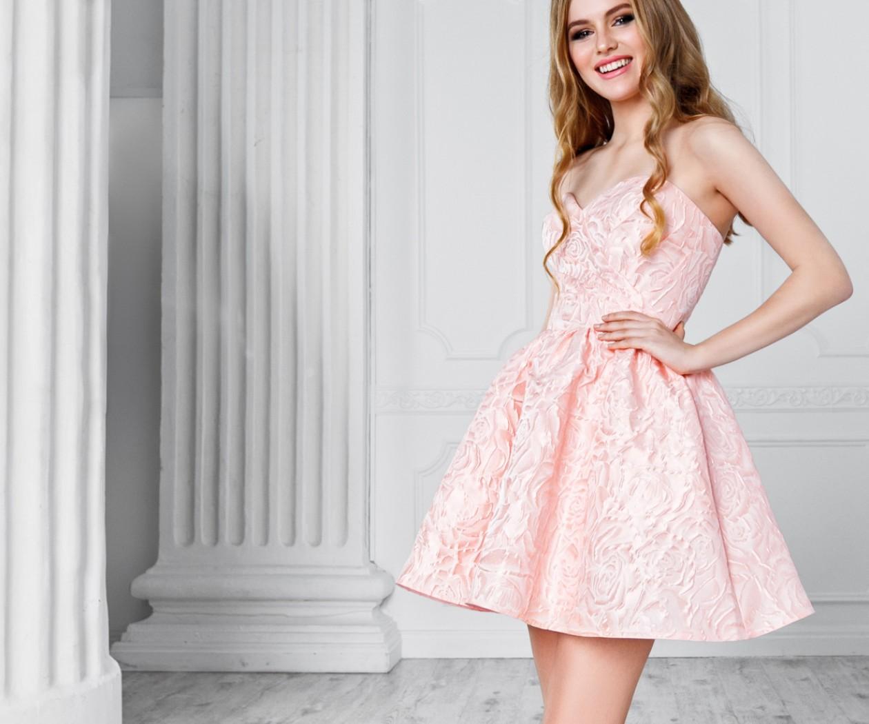 Маленькое корсетное платье с пышной короткой юбкой МАРЛЕН