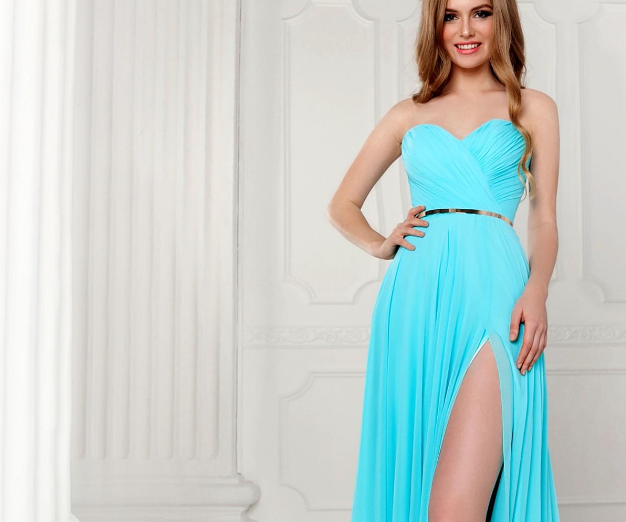 Платье С Разрезом С Доставкой