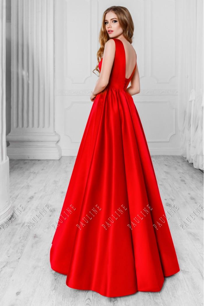 Лаконичное вечернее платье элегантного силуэта СКАРЛЕТТ Уинд