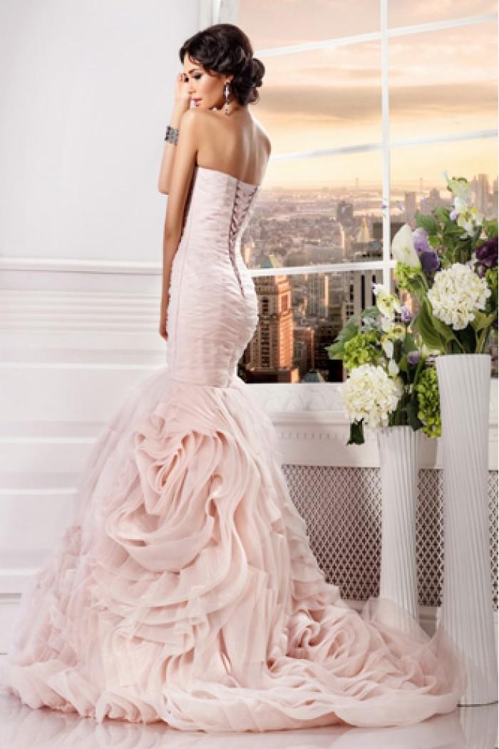 Экстравагантное свадебное платье силуэта Рыбка Царство РОЗЫ