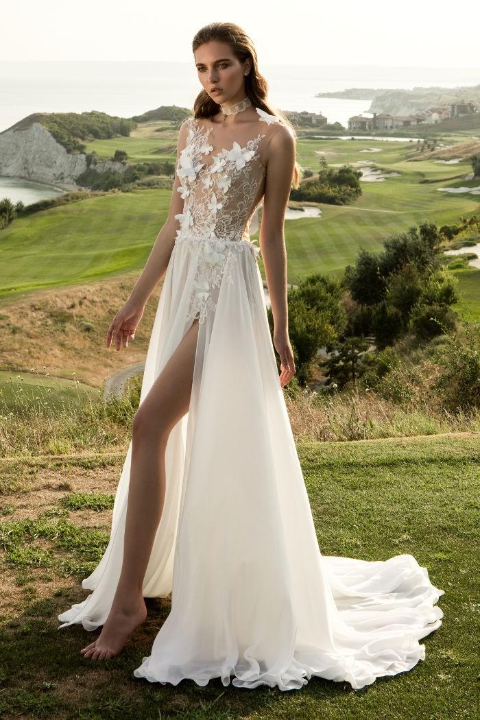 Свадебное платье пляжное фото