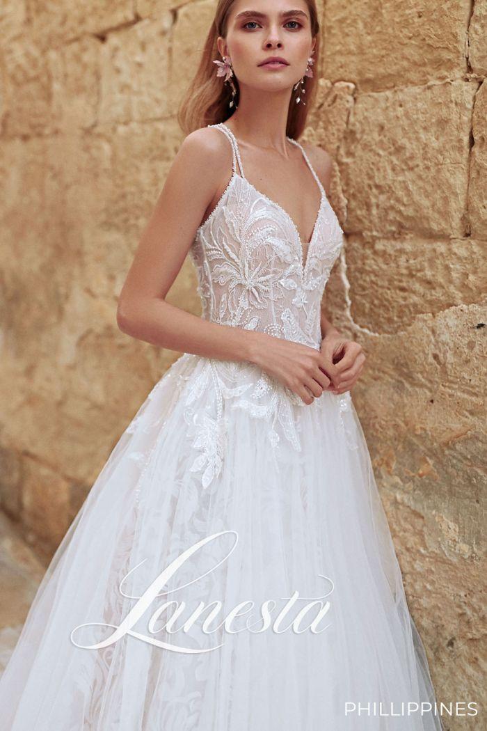 Элегантная модель свадебного платья ФИЛИППИНЫ