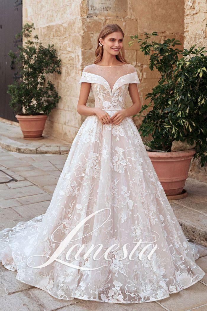 По-королевски роскошное свадебное платье САНТОРИНИ