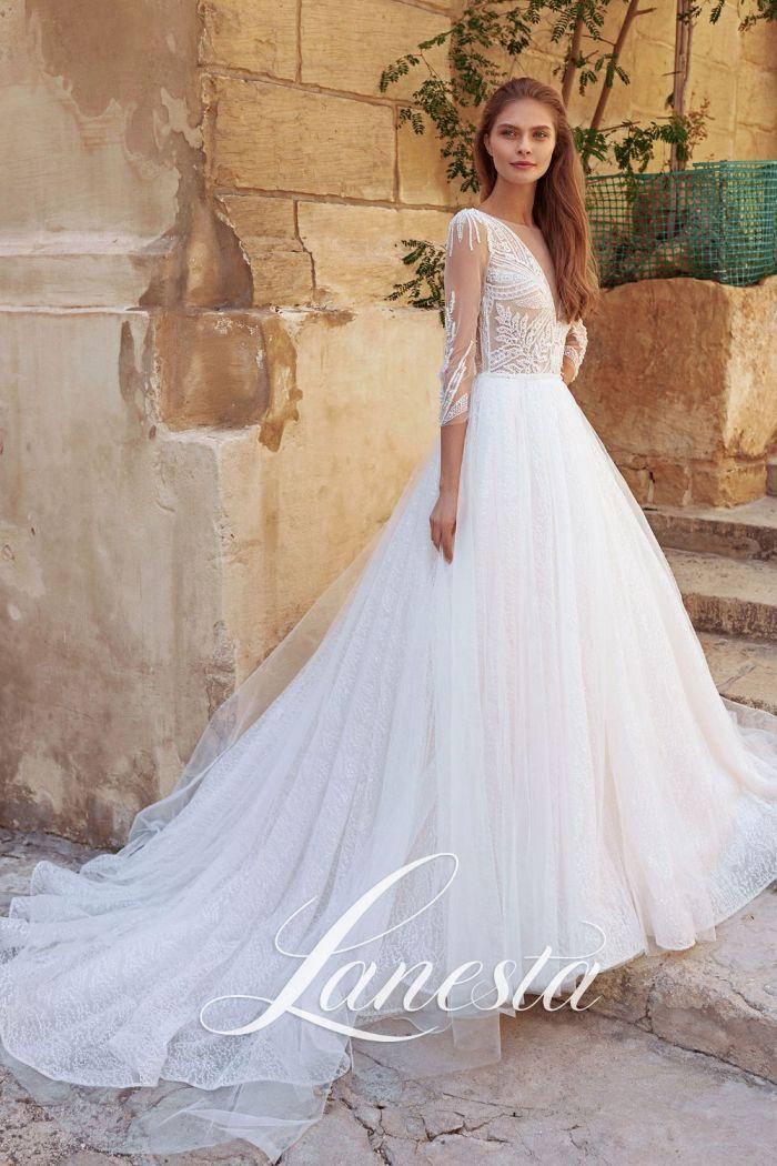 Утонченное свадебное платье с нежной юбкой ТЕНЕРИФЕ
