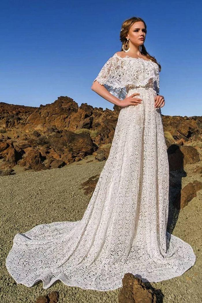 Свадебное платье в стиле бохо  МЕЙДЕН