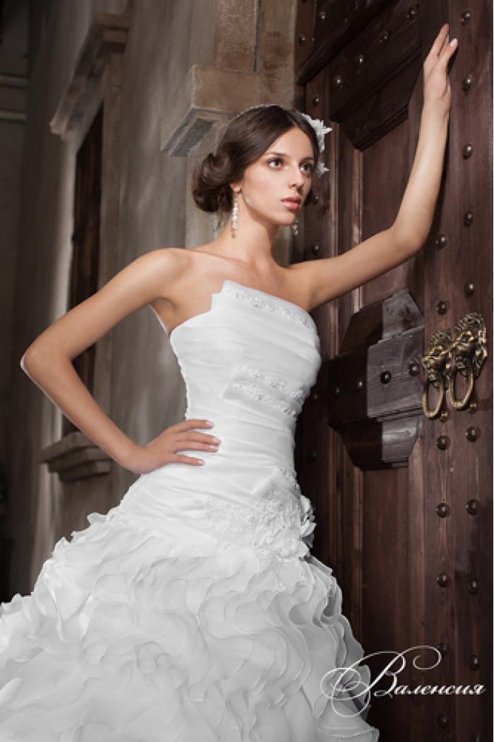 Свадебное платье силуэта годе ВАЛЕНСИЯ