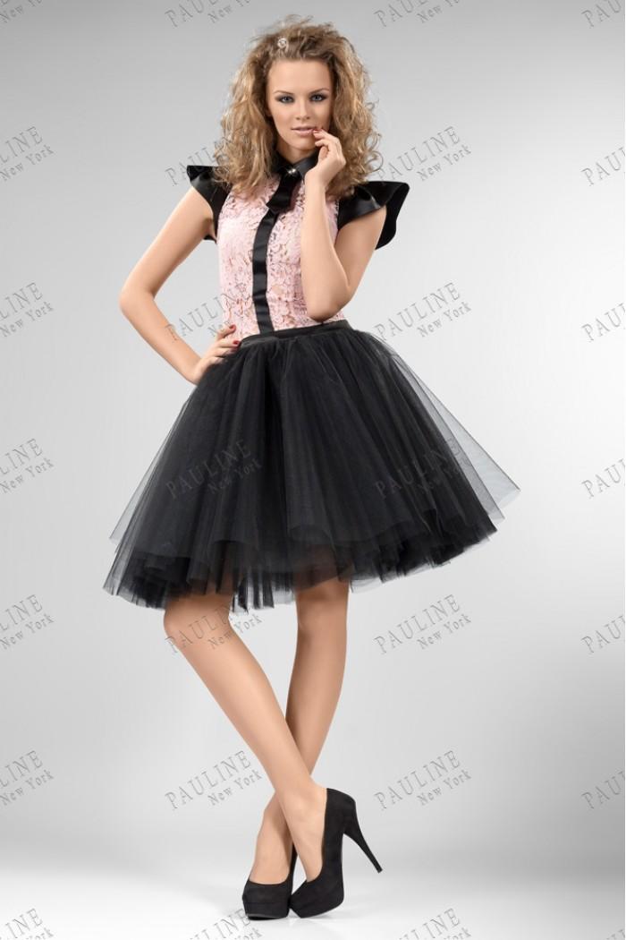 Кокетливое вечернее платье с пышной юбкой КВИНС Конферо