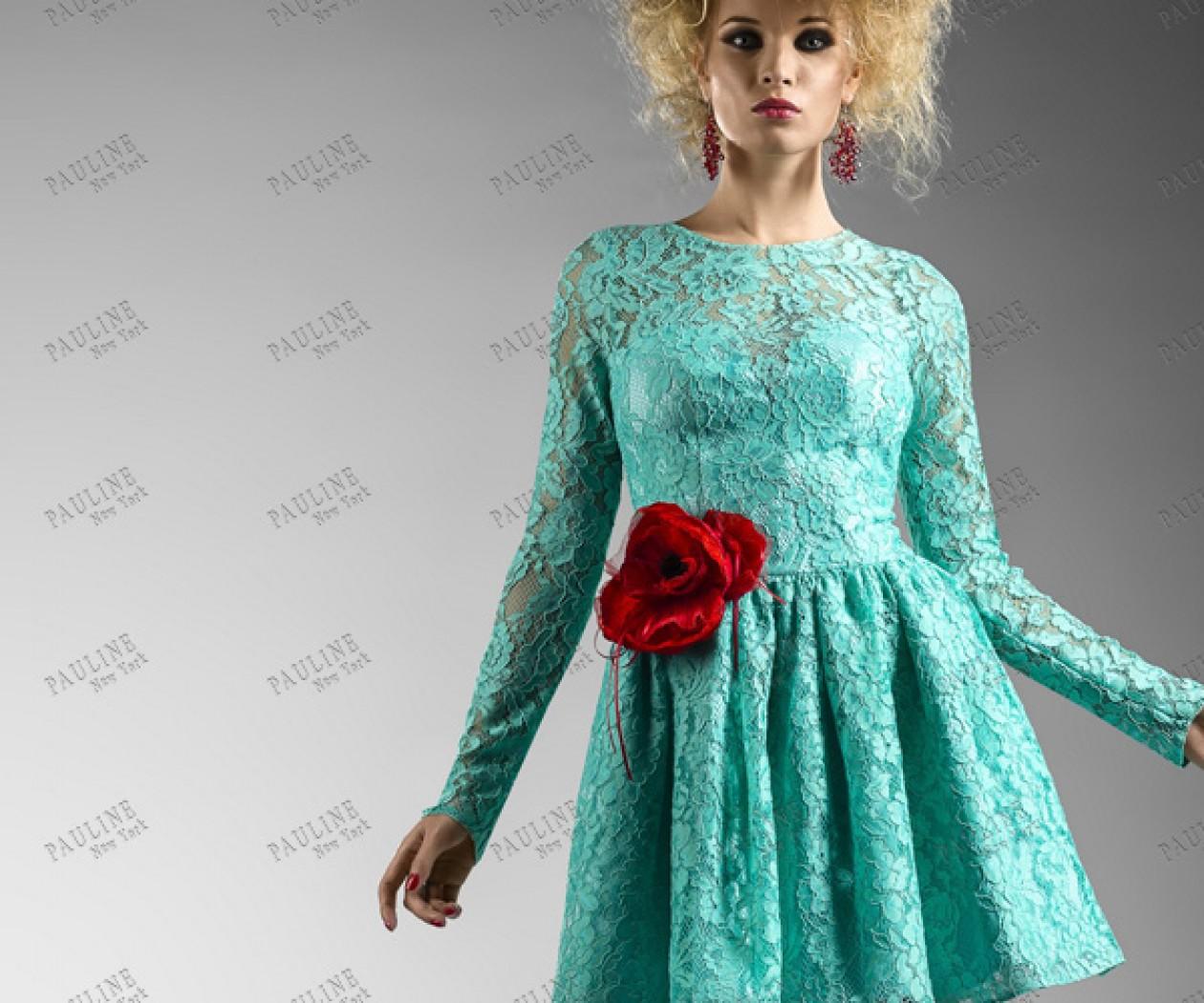 Короткое вечернее платье с пышной юбкой НОЛИТА