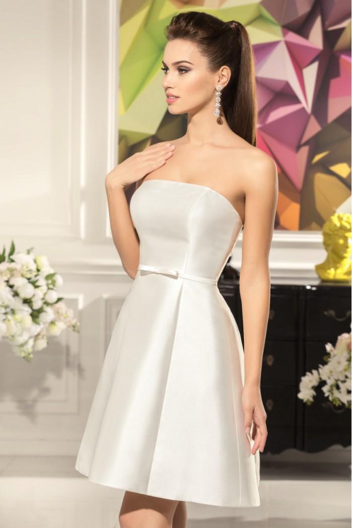 Свадебное платье трансформер со съемной юбкой АНГЕЛИНА