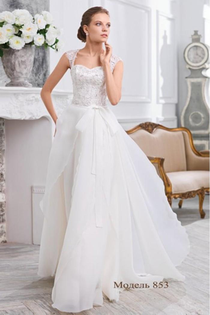 Свадебное платье с открытой спиной Olga Sposa