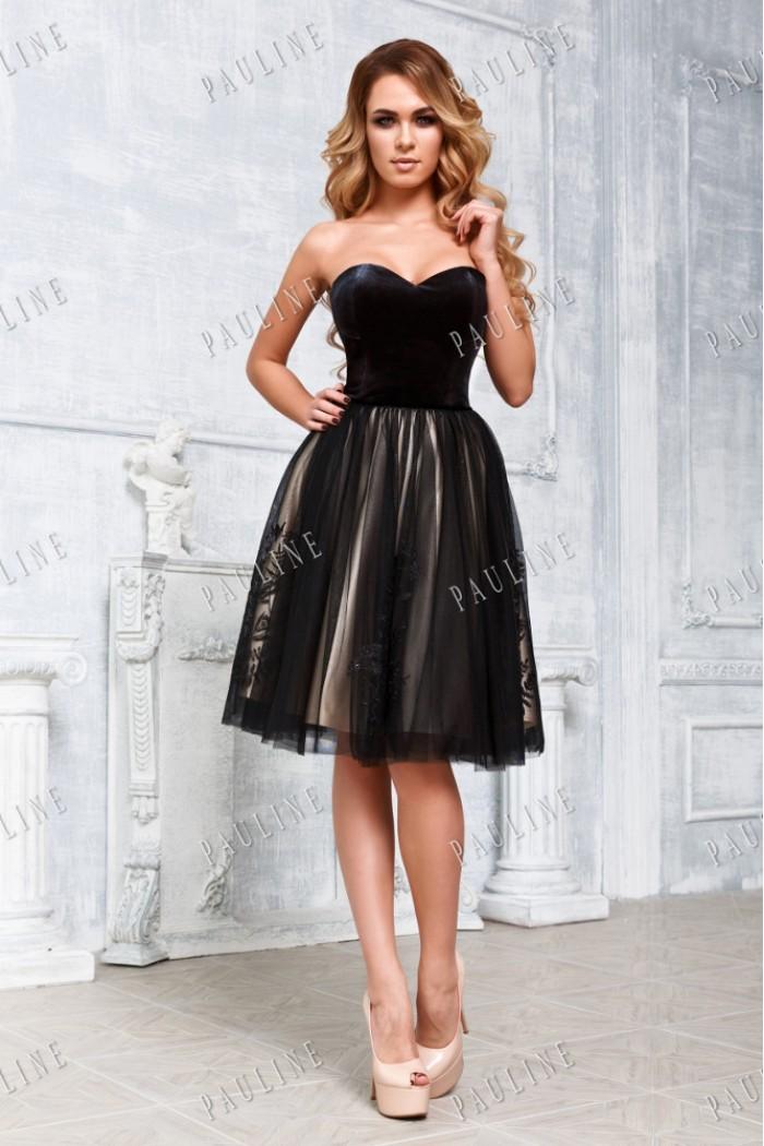 Вечернее платье с юбкой пачкой ГРАФИКА-ЛОРА