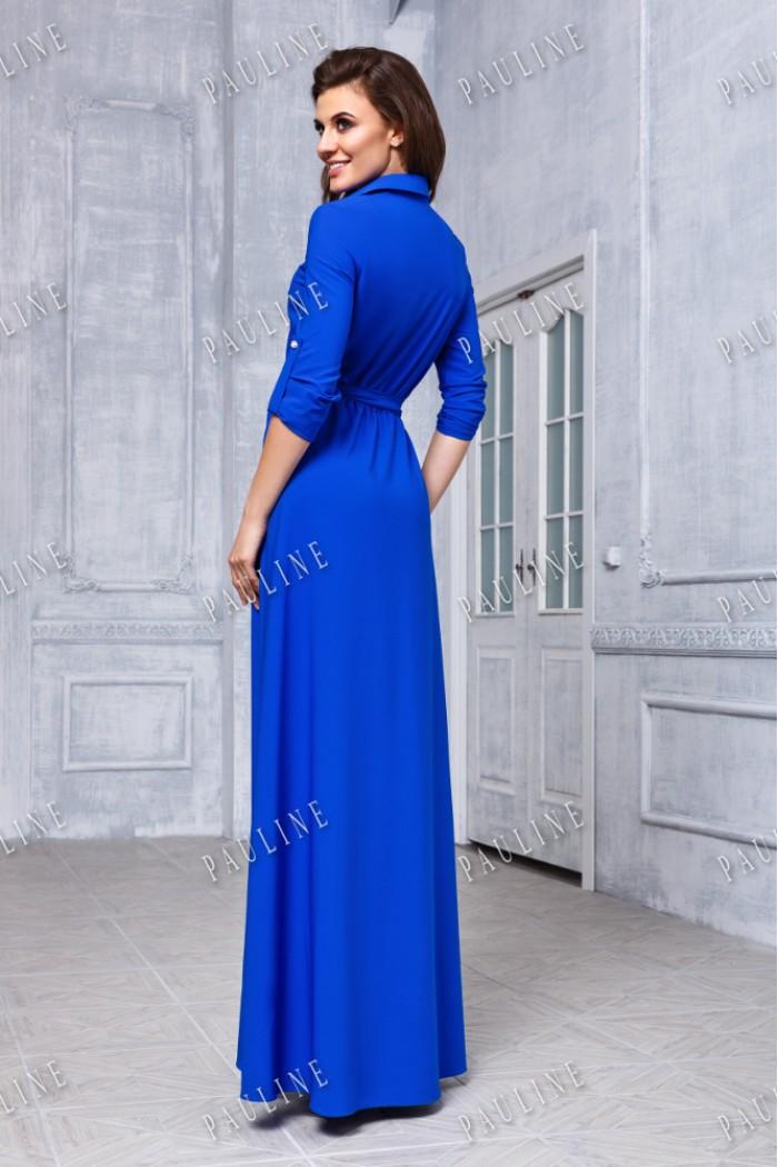 Длинное вечернее платье-рубашка УВЕРТЮРА ЛЮКС