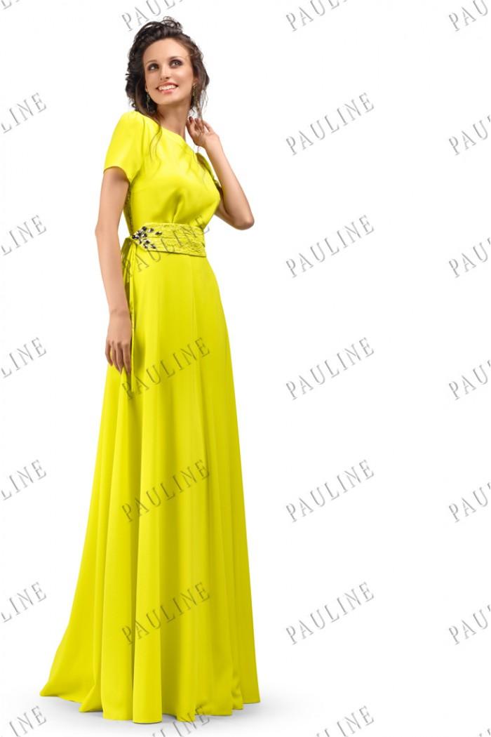 Длинное вечернее платье с открытой спиной ЛАЙФ