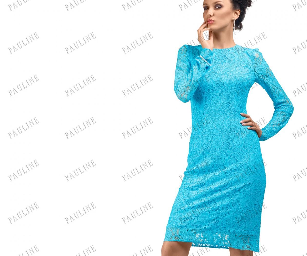 Короткое платье с открытой спиной МАТИС Миди