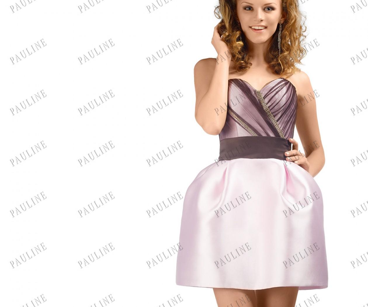 Платье на выпускной с короткой юбкой ТУЛУЛА