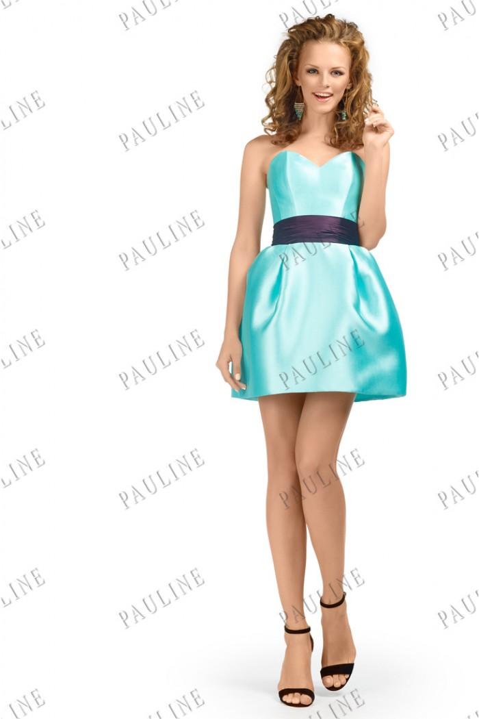Короткое платье на выпускной ФИЛИОЛА