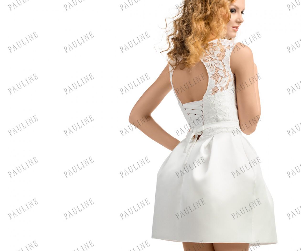 Короткое вечернее платье с юбкой-тюльпан ЛА ПРИМА