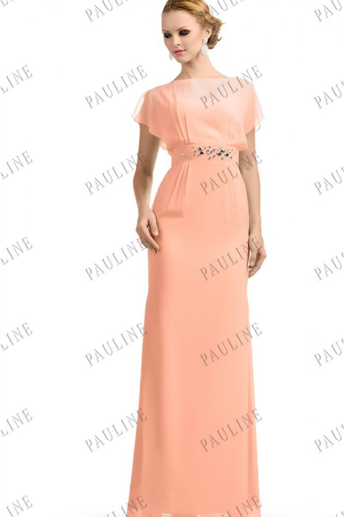 Вечерние  фото персикового цвета