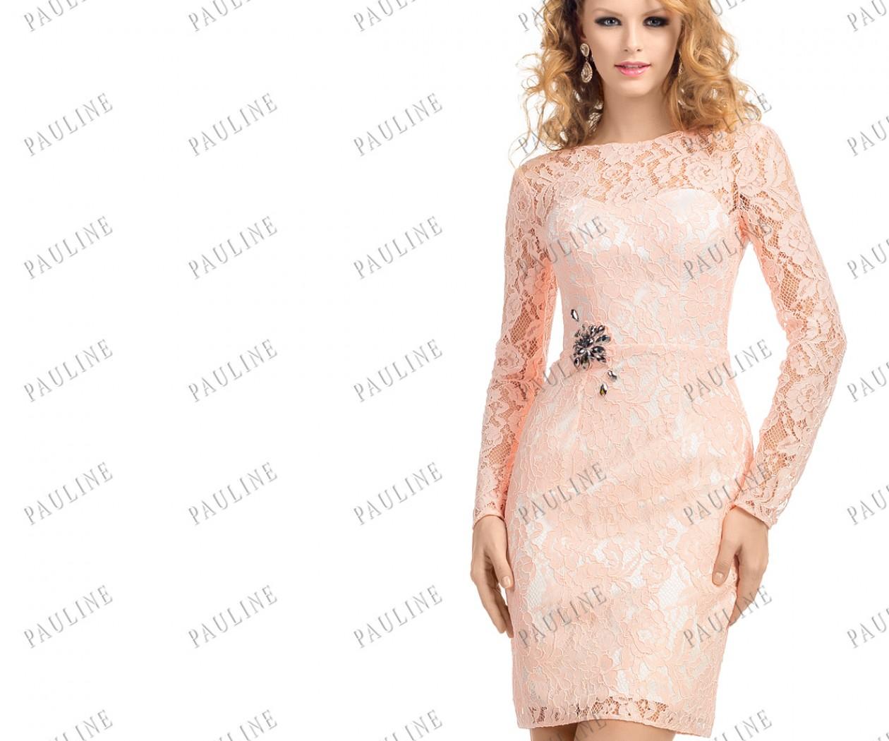 платье с разной длинной юбки