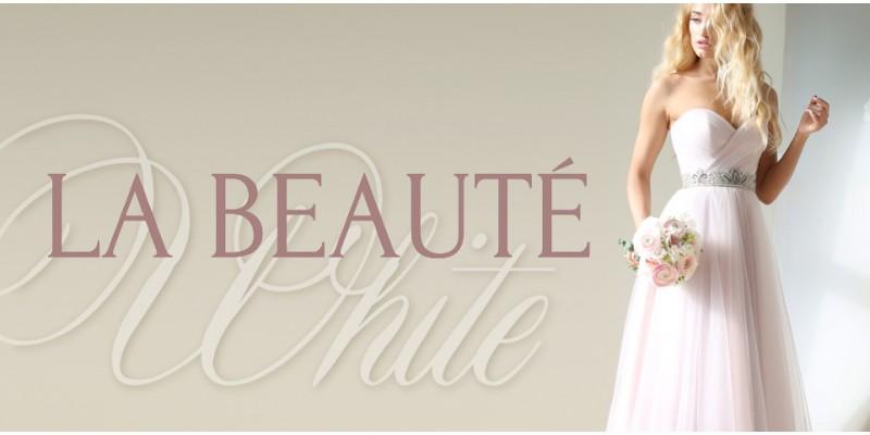 Свадебные платья с изысканным декором в коллекции La beauté