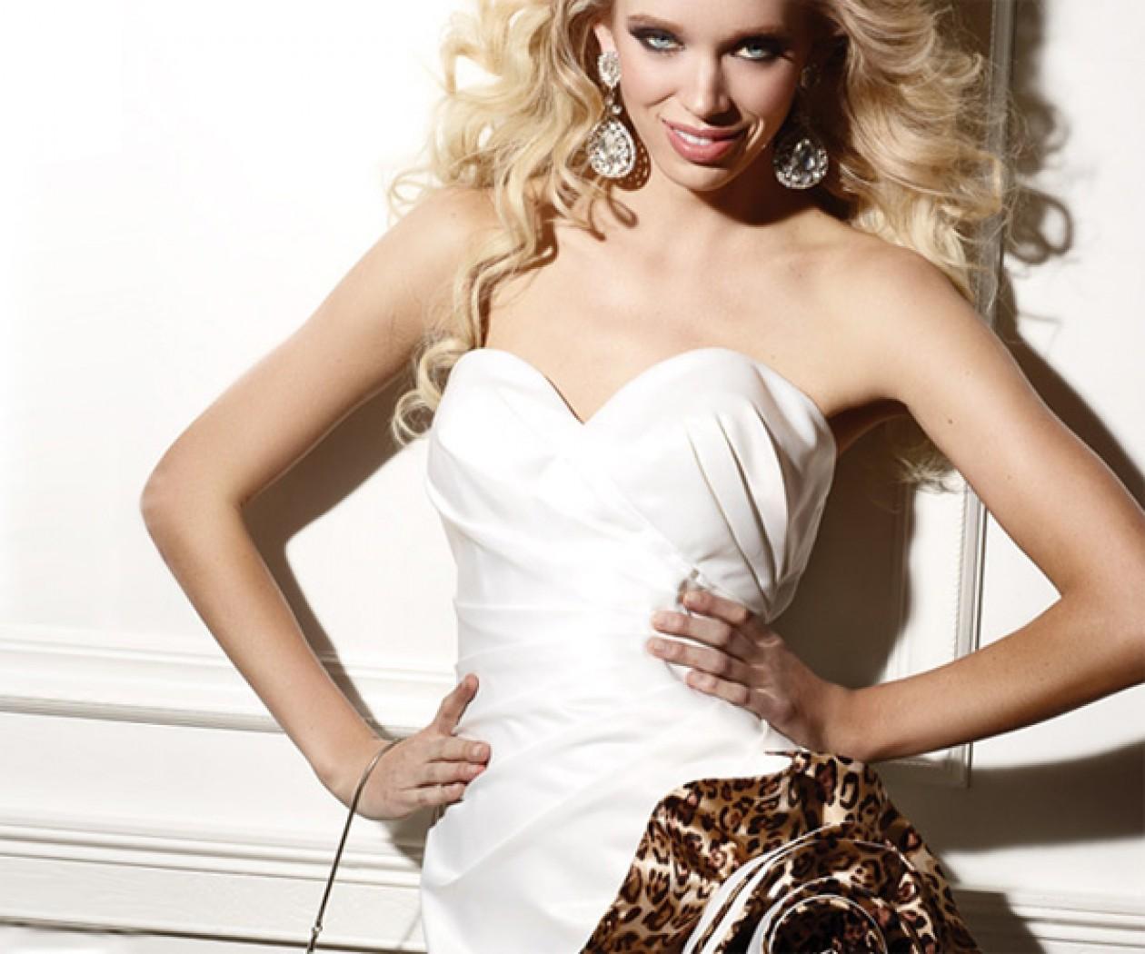 Вечернее платье мини от TERANI couture TERANI couture