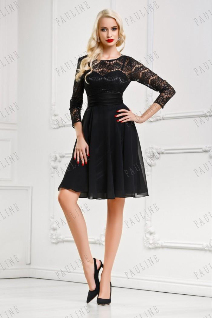 Дорогое платье с кордовым кружевом ЭТЮД