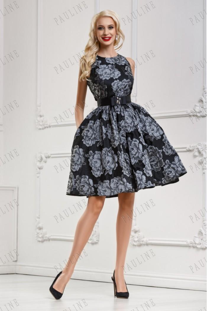 Пышное короткое платье ГРИФ Мини